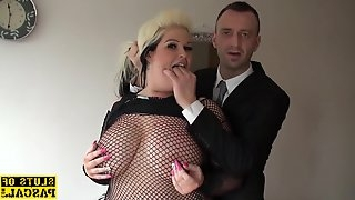Bbw british sub pussyfucked in lingerie - brutal sex
