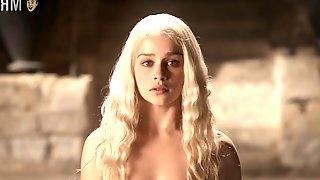 Daenerys Targaryen and Viserys bath scene
